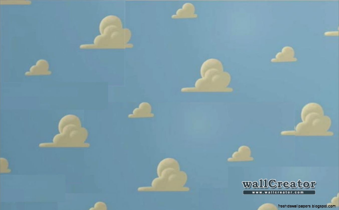 Toy Story Cloud Wallpaper Free Hd Wallpapers