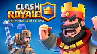 Clash Royale Apk Mod Unlimited Gems+Gold Terbaru Free Download