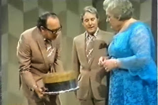 Morecambe and Wise with Gladys Mills