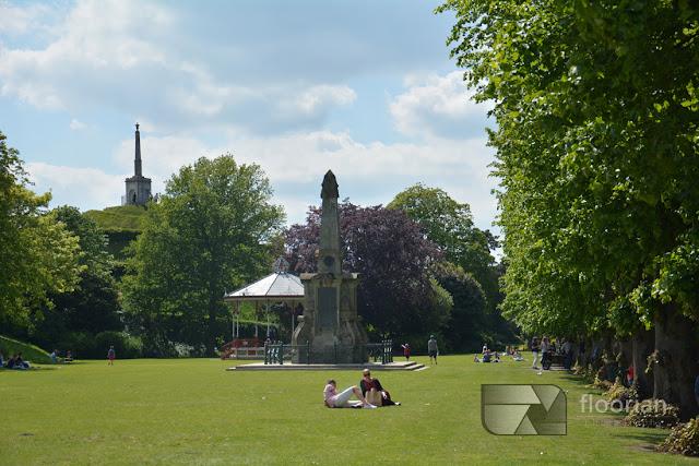 Parki w Canterbury - historyczne miasto w Anglii.