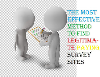 The most effective method to Find Legitimate Paying Survey Sites