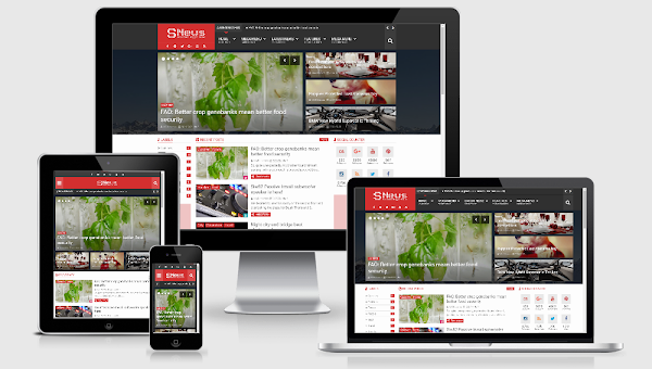 SNews 1.6 – News/Magazine Responsive Blogger Theme Premium Free Download