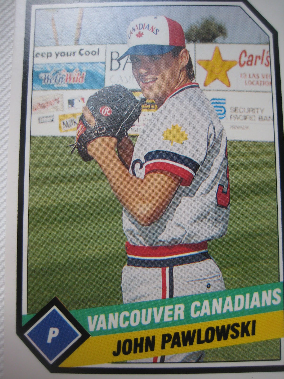 Baseball Cards Come To Life 1989 Vancouver Canadians Cmc