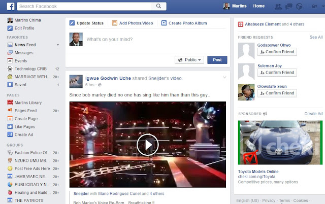 Facebook Video Download Add-on