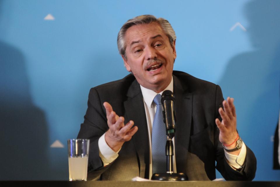 Alberto Fernández: No hay ninguna ruptura con los gobernadores