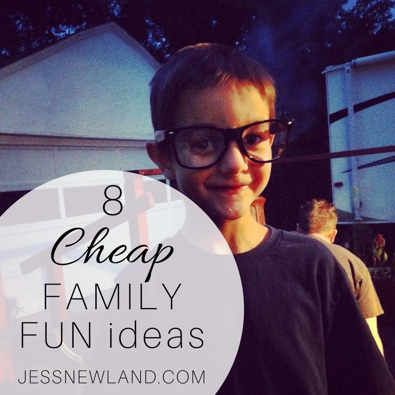 Cheap family fun ideas
