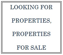 Looking for Properties, Properties for Sale