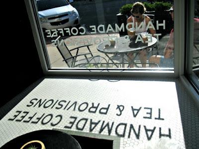 Bay City Coffee Harless & Hugh Front Window
