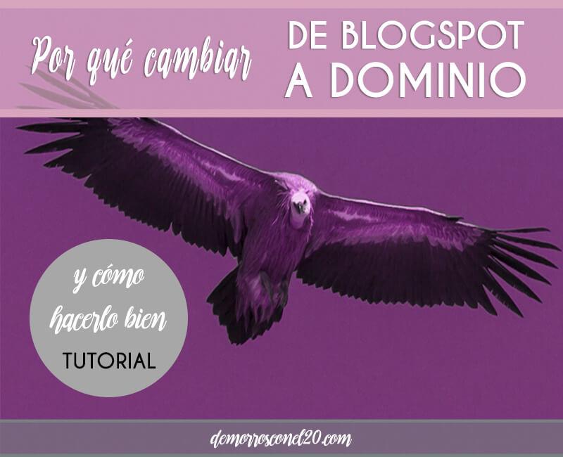Cambiar de blogspot a dominio