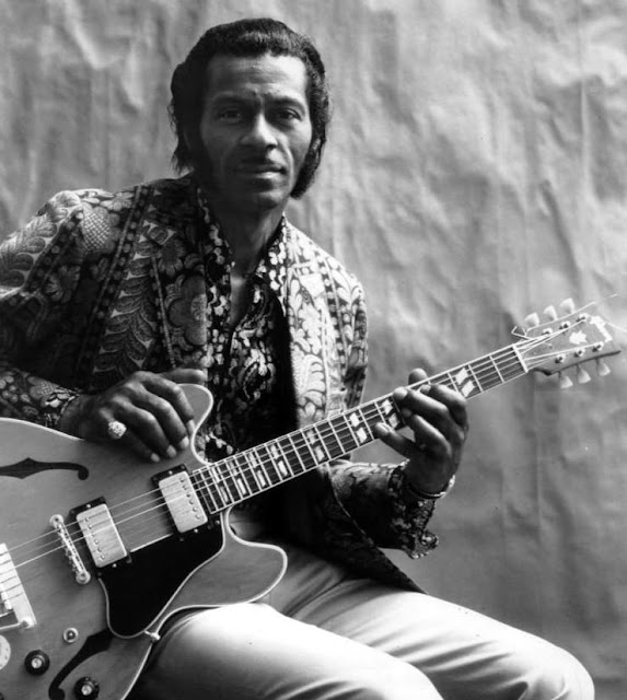 Chuck Berry in 1972 / My Ding-A-Ling