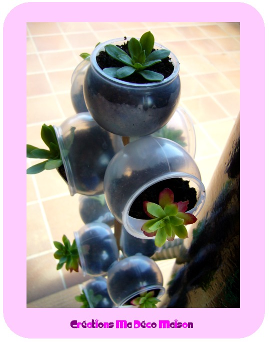 recyclage de pots l 39 atelier de jojo. Black Bedroom Furniture Sets. Home Design Ideas