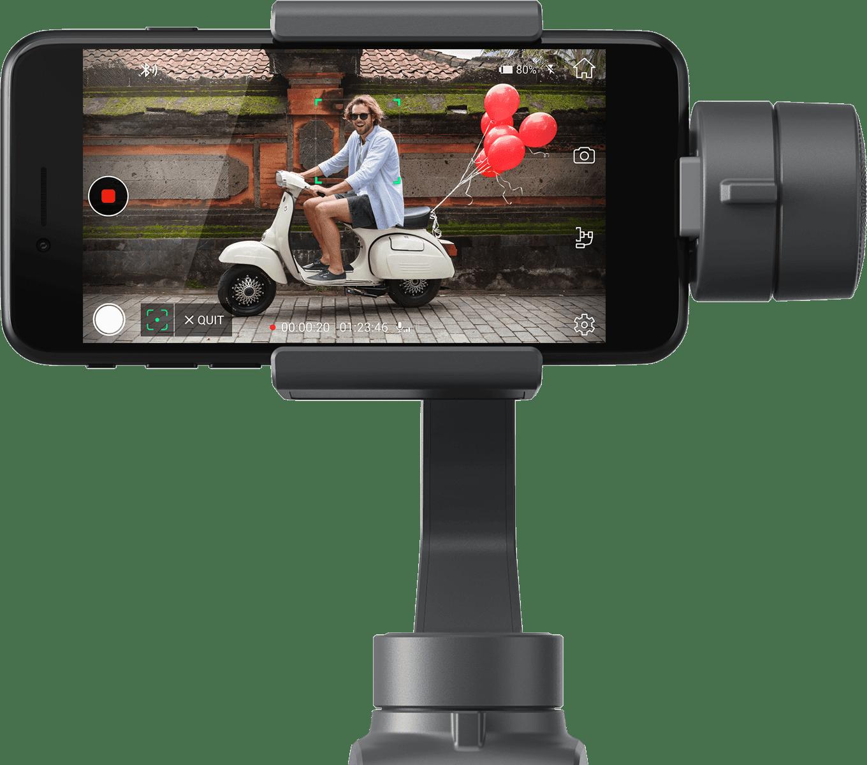 DJI Osmo Mobile 2 с установленным смартфоном