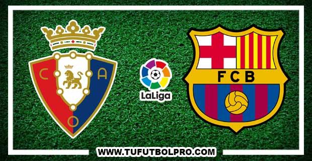 Ver Osasuna vs Barcelona EN VIVO Por Internet Hoy 10 de Diciembre 2016