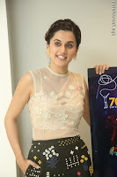 Taapsee Pannu in transparent top at Anando hma theatrical trailer launch ~  Exclusive 055.JPG