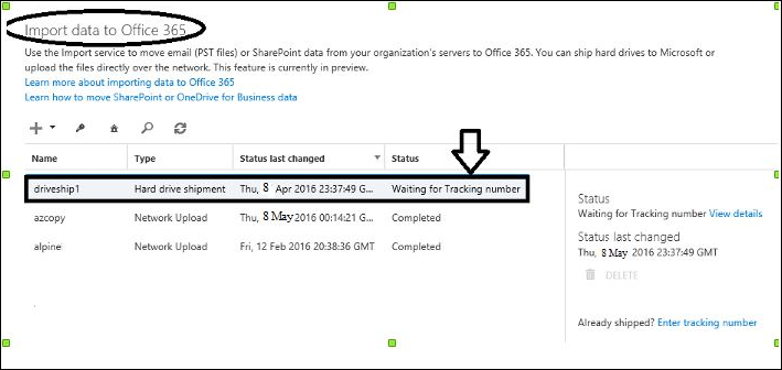 How to Migrate PST Files to Office 365 Online via Drive Shipping