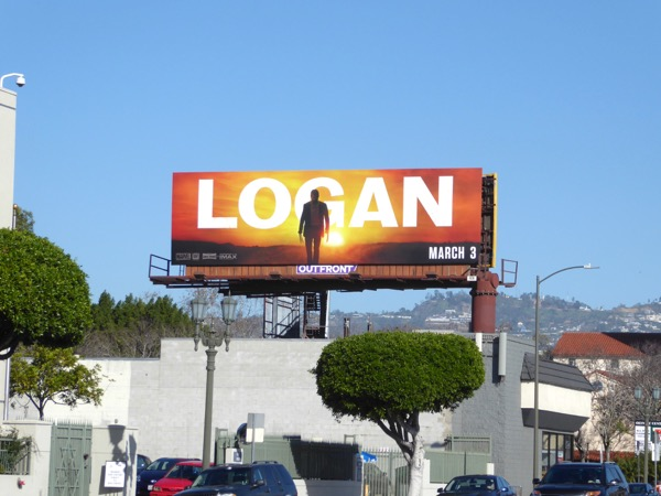 Logan film billboard