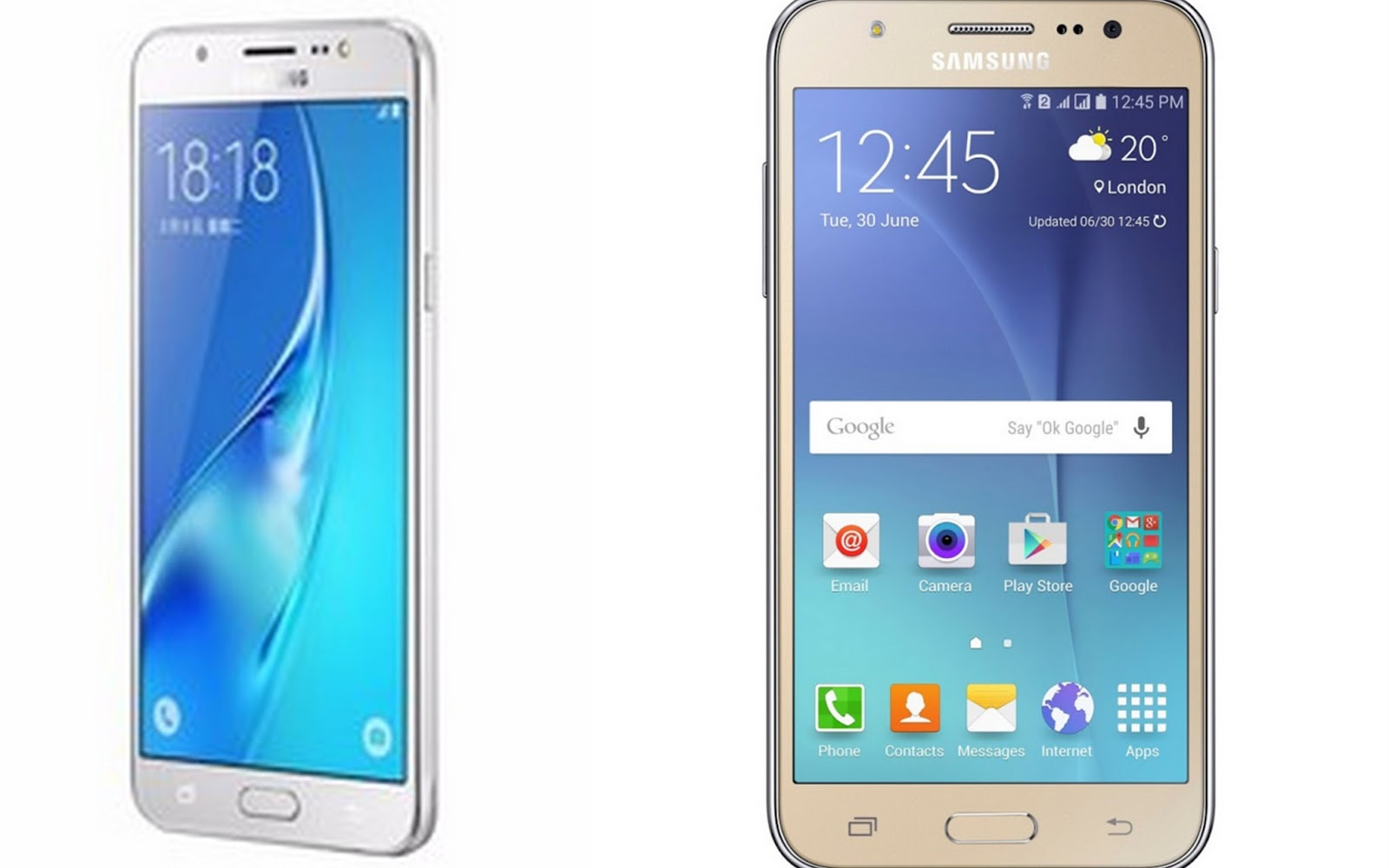 Samsung Galaxy J7 2015 vs 2016