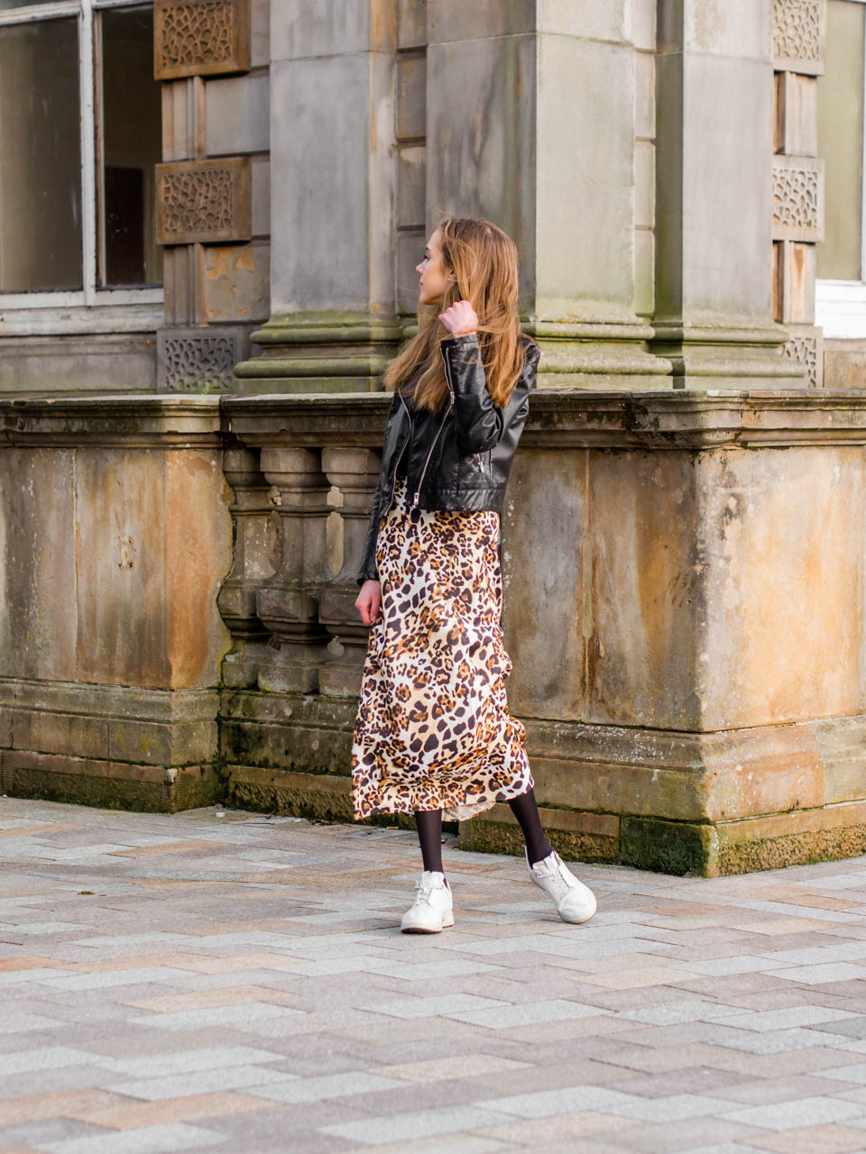 How to wear leopard print skirt autumn 2019 - Syysmuoti 2019, leopardihame