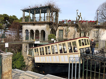 Old, still working, hydraulically powered funicular, near Braga (Source: Palmia Observatory)