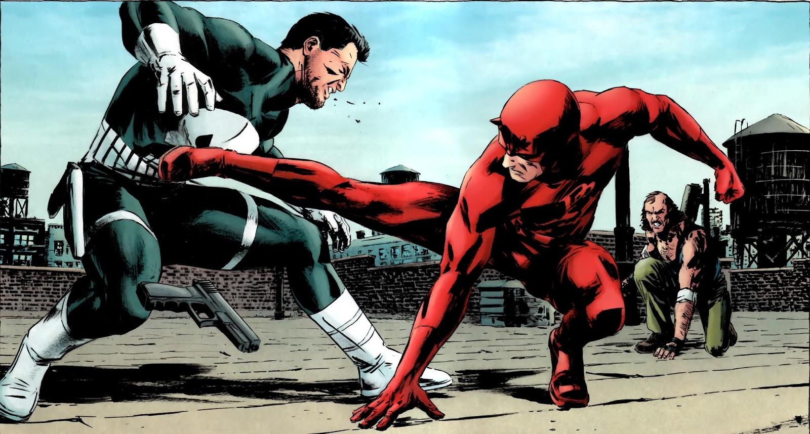 Punisher Daredevil