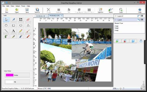 أفضل, برنامج, إحترافى, لإنشاء, وتصميم, الرسومات, والصور, والجرافيك, DrawPad ,Graphics ,Editor