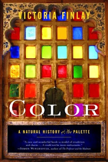 Color - A Natural History of the Palette by Victoria Finlay book cover