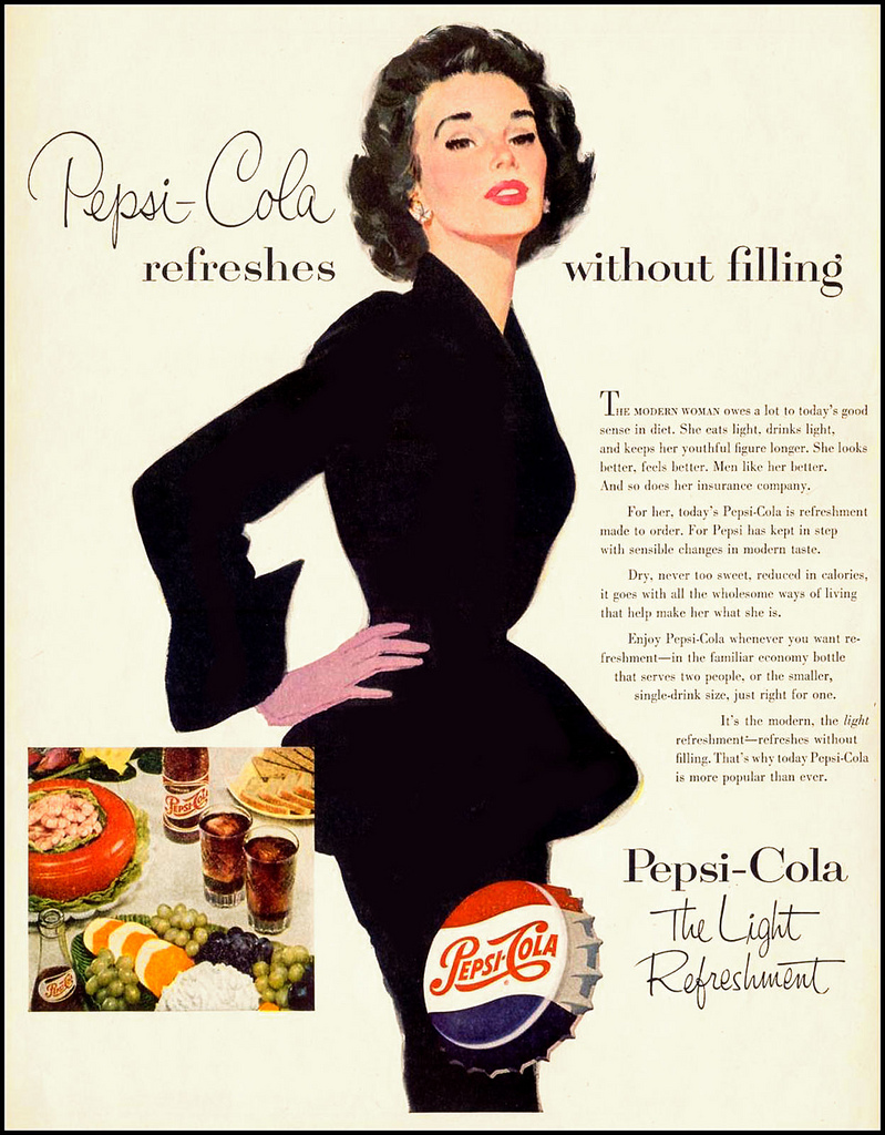Pepsi Advertising Campaigns Of The 1950s Vintage Everyday