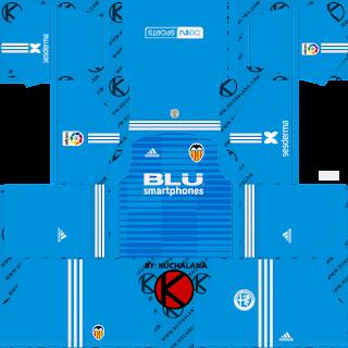 Valencia CF 2018/19 Kit - Dream League Soccer Kits