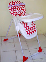 Baby High Chair CocoLatte CL586