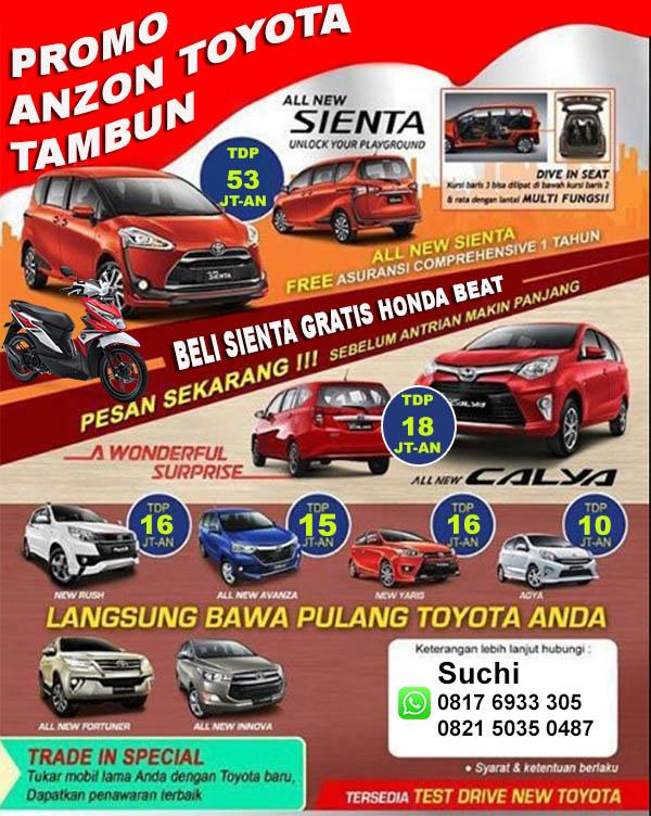 Promo Anzon Toyota Tambun Bekasi 2016