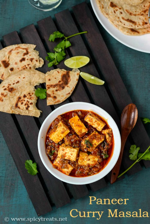 Paneer Curry Masala