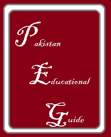 Pakistan Admissions Guide: August 2013