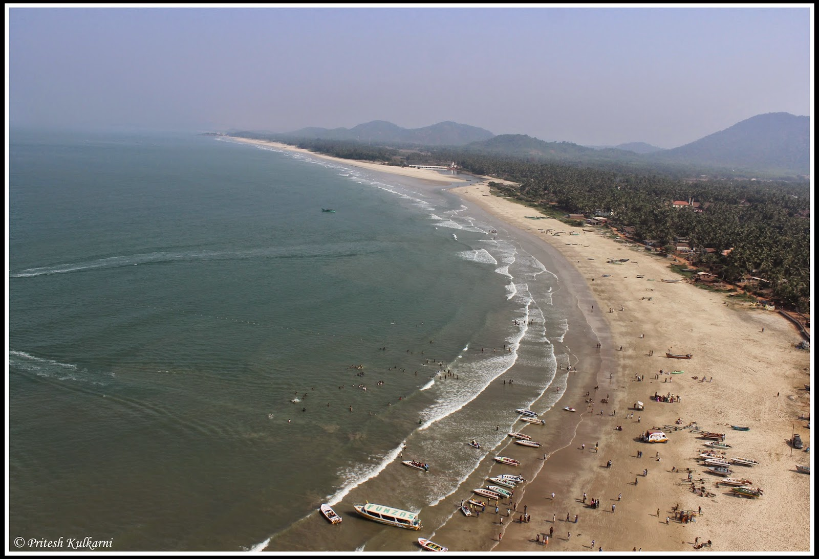 Beach view from Gopura