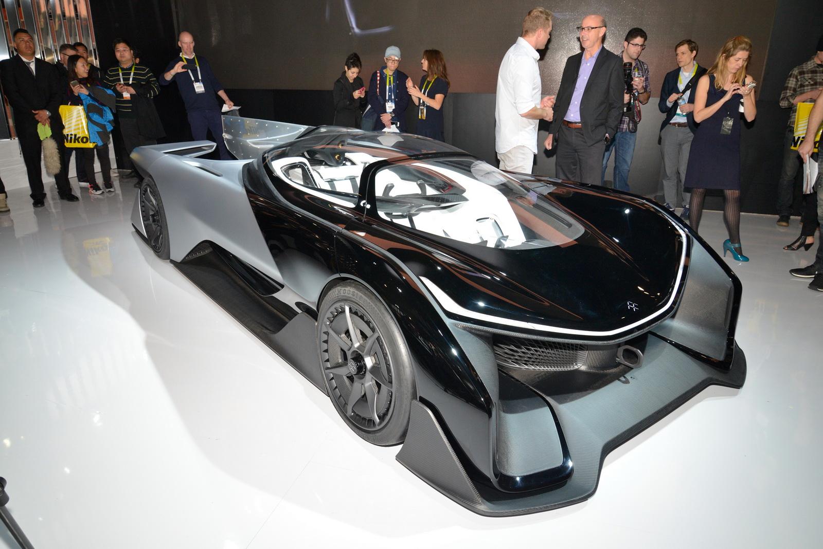 Faraday Future FFZERO1 EV Supercar Concept - Siêu xe ngay cả cái tên cũng giống nhái Ferrari
