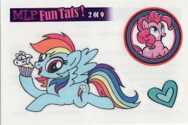 My Little Pony Tattoo Card 2 Equestrian Friends Trading Card