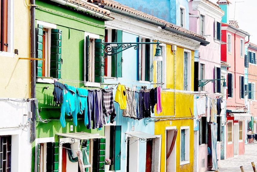 Venedig_Burano_bunte_Häuser1