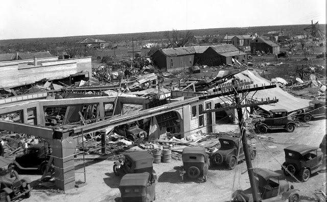 Rocksprings Texas F5 Tornado April 1927