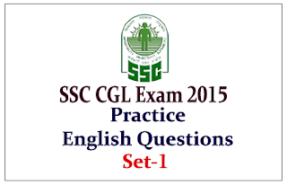 List of Practice English Questions for Upcoming SSC-CGL Exam