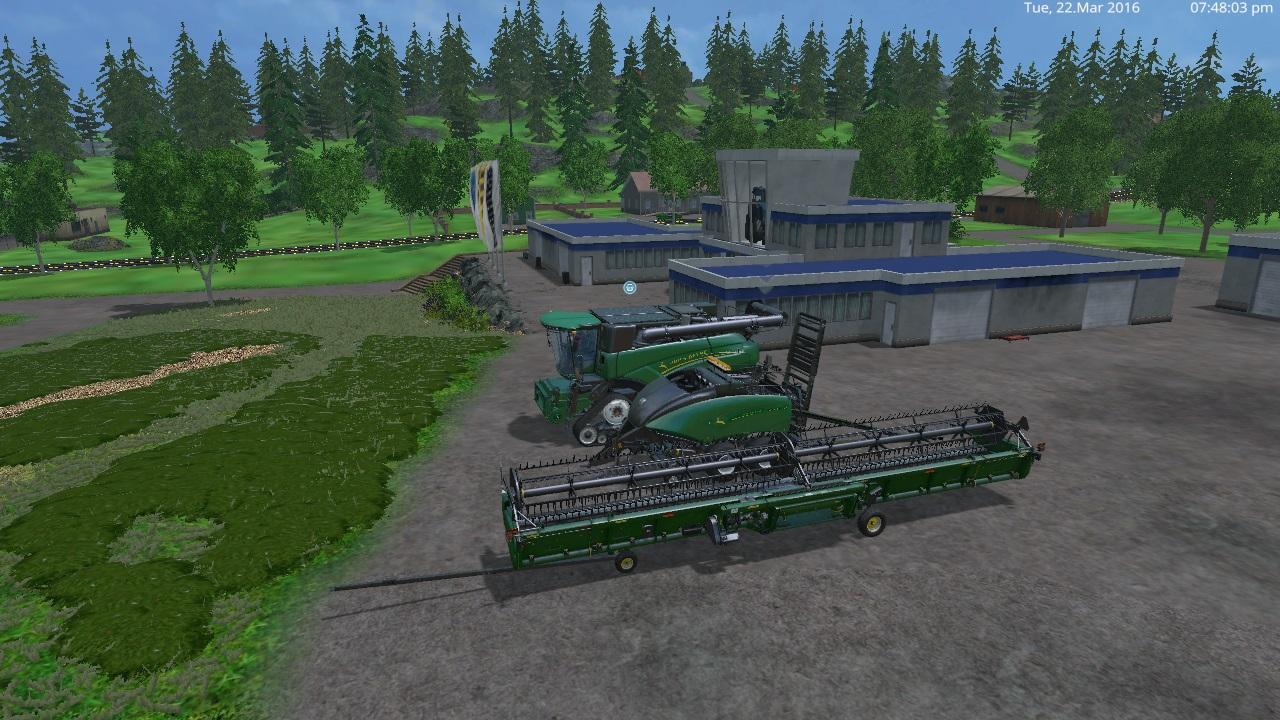 here is a johndeergreennewhollandpack v 1 0 by eagle355th i have been working on for a week i finnaly finished it the baler john deer new holland bb 1290