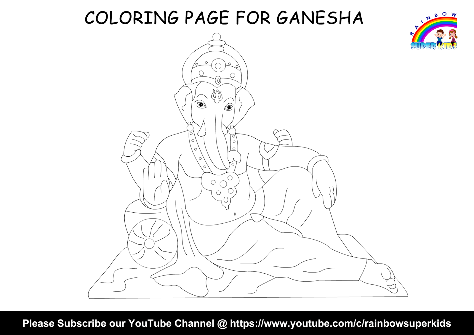 Drawing Ganpati | Ganesh Chaturthi 2018 Special | Drawing & Coloring ...