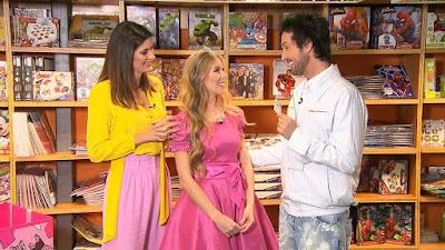 Priscila com Isabella e Arlindo - Divulgação/SBT