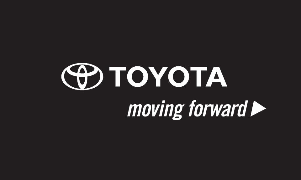 Logo toyota moving forward