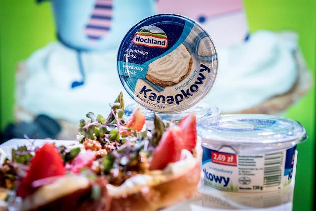 Nowy Hochland Kanapkowy - relacja z eventu promującego nowe smaki serka kremowego