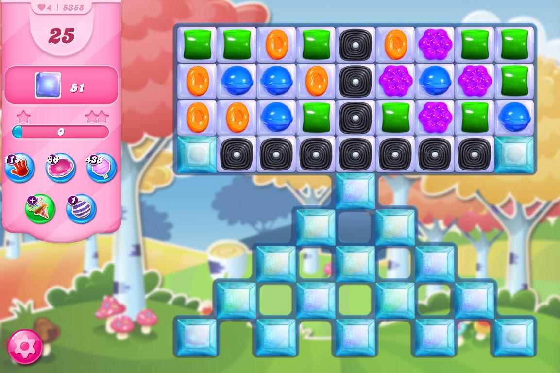 Candy Crush Saga level 5358