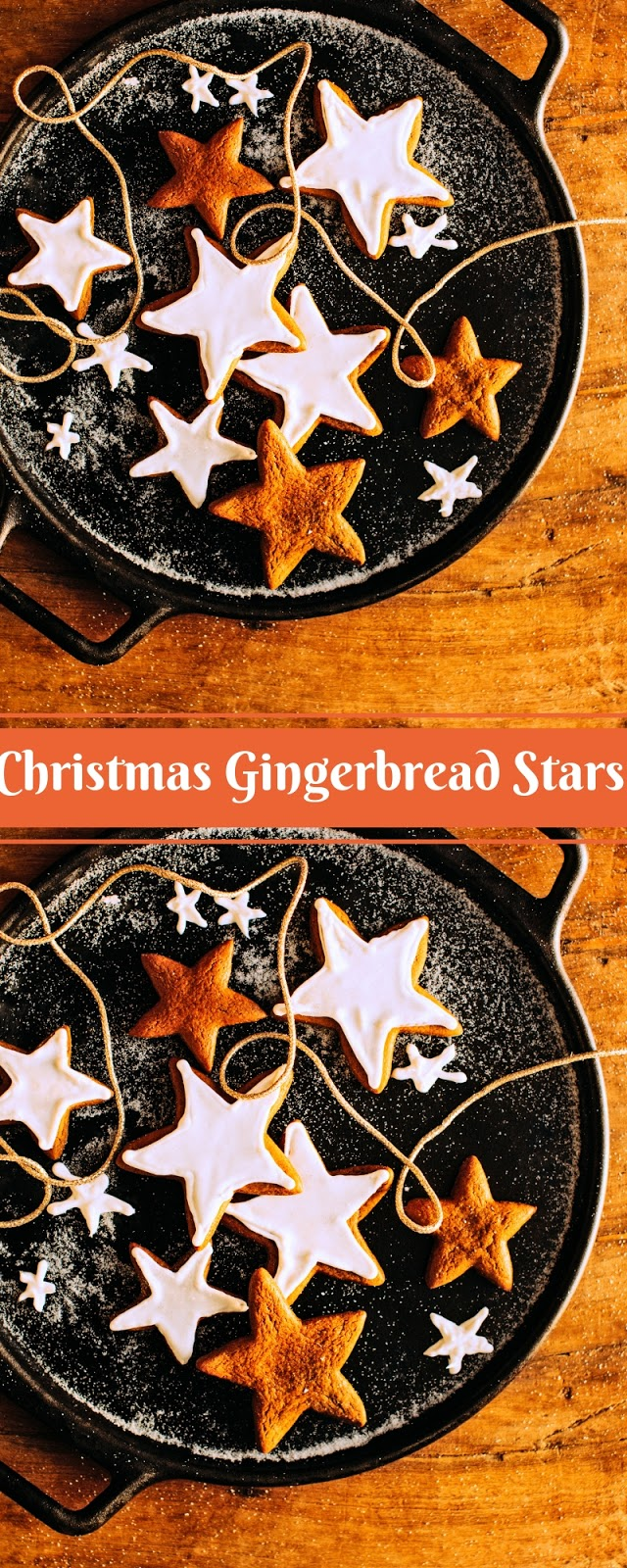 Christmas Gingerbread Stars