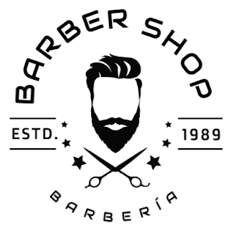 Simulación de logotipo para Barber Shop