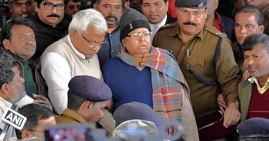 Lalu Prasad Yadav gets 3.5 years jail in fodder scam case