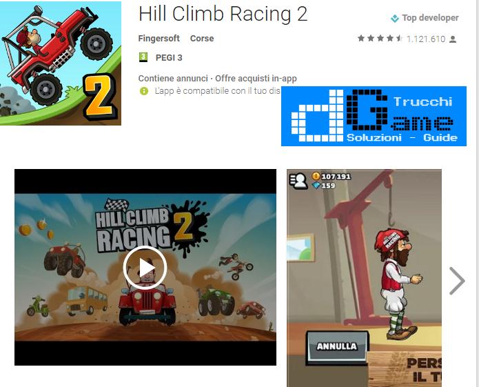 Trucchi Hill Climb Racing 2 Mod Apk Android v1.2.2