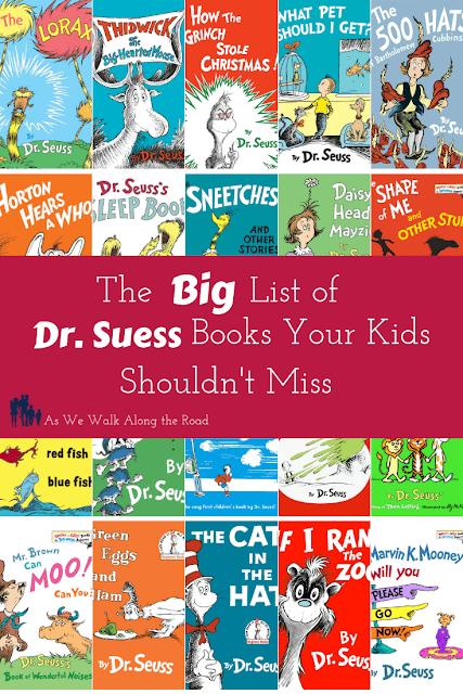 Dr. Suess Booklist