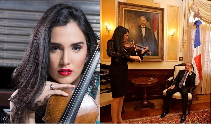 La violinista dominicana Aisha Syed abrirá gira mundial en  Carnegie Hall el 27 de febrero